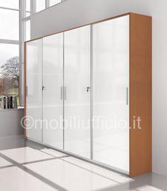 CA063 - #armadio #archivio per #ufficio #operativo o #direzionale con ...