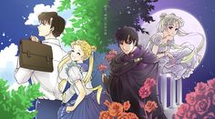 Usagi / Serenity and Mamoru / Endymion
