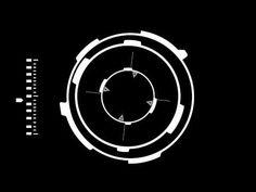 Sci Fi HUD - Black Background Animation - YouTube