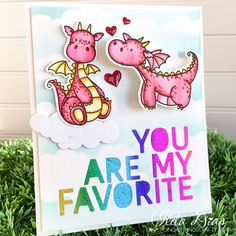 (I) (L)ove (D)oing (A)ll Things Crafty!: You Are My Favorite Valentine - Featuring MFT's Magical Dragons