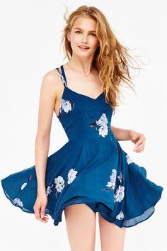 Kimchi Blue Scarlett Fit + Flare Dress
