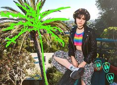 @sokothecat is a rebel in every sense of the word. With her debut collection inviting you to the deepest darkest corners of her world featuring designs such as Aliens, Zombie bats, and Zombie cats. It's no wonder why we find the French musician and actress so alluring. Shop the entire collection now- link in bio  #punksandpoets #stancemuse #stancemuse