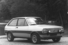 Ford Fiesta Mk1.  I had a 1.3s version of this.  My first ever car.