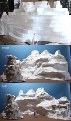 """Ever wonder how masterful mini mountains come to life? Stephen Hayford breaks it… Ever wonder how masterful mini mountains come to life? Stephen Hayford breaks it down into easy steps for this """"top secret"""" project. Wonder what it could be for?"""