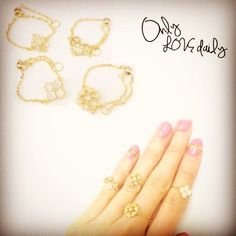 「チェーンリング #accessory #ring #chain #old #onlylovedaily」