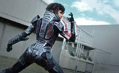 FemShep Mass Effect Cosplay