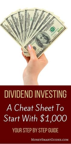 Are you looking to start investing? A great strategy is to dividend investing. This post walks you through how to start dividend investing with little money Stock Market Investing, Investing In Stocks, Investing Money, Silver Investing, Investment Portfolio, Investment Advice, Investment Property, Investment Group, Investment Companies