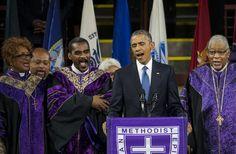 Obama's 'Amazing Grace' - The Atlantic