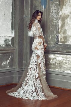 WedLuxe – Nektaria – Regal Bridal Collection |  Follow @WedLuxe for more wedding inspiration!