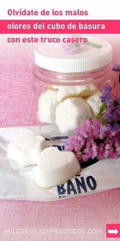 Olvídate de los malos olores del cubo de basura con este truco casero #hogar #casa #malosolores #deodorant