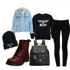 Don't support the 'boy' company and their logo, but lovin the outfit