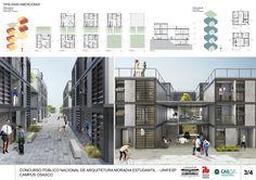 Galeria de 5° Lugar no concurso para Moradia Estudantil da Unifesp Osasco / Bacco Arquitetos Associados - 15