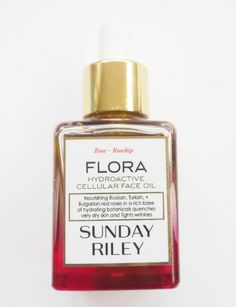 Sunday Riley - Flora Hydroactive Cellular Face Oil - Outstanding oil for not only dry or dehydrated skin, but for most skin types. Makes skin glow!
