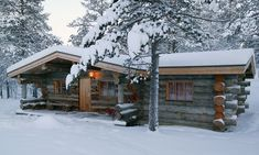 Winter Lodge photography scenic outdoors nature winter trees snow holidays lodge cool images chirstmas homes
