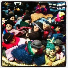 Dolls in the store
