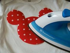 DIY Disney T-Shirts Tutorial @ decorating-by-daydecorating-by-day