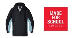 Soft microfibre jacket is the perfect addition to the kids school uniforms on autumn days - Natalie
