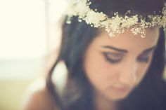 Summer Bride Floral Natural Head Crown.