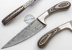 "9.65"" Custom Manufactured Beautiful Damascus Steel chef/Hunting Knife (FSL-024-6 #KnifeArtist"