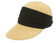 Black Packable Straw Sun Hat for Women - Golf, Gardening, Beach, Travel Fashion Helpers,http://www.amazon.com/dp/B00I52HQ3O/ref=cm_sw_r_pi_dp_m6Bktb18ZY089V9W