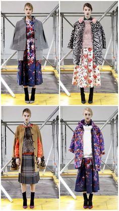settimana della  moda milano fashion week collezioni autunno inverno 2013 2014 msgm fiori animalier mix      #msgm #mfw #fashionweek #runwayshow     www.ireneccloset.com