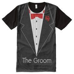 groom, smoking T-shirt,suit t shirt