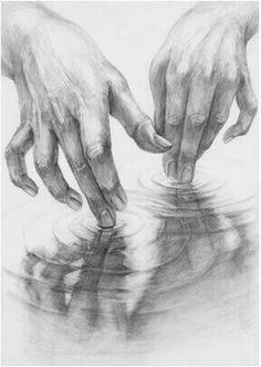 draw draw draw a symphony in a soft, little puddle Cool Art Drawings, Pencil Art Drawings, Realistic Drawings, Art Drawings Sketches, Hand Pencil Drawing, Drawing Hands, Life Drawing, Figure Drawing, Painting & Drawing