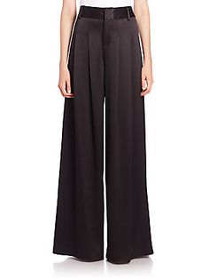 Alice   Olivia Wide-Leg Flutter Pants