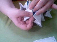 Origami Transformer Ball - YouTube