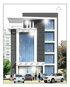 Building/Commercial space for Rent at Punkunnam Road, Thrissur, kerala, India.