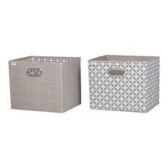 Need to keep the things on your shelves or desk organized? You'll love these storage baskets for books, little clothes, toys… whatever! With their sophisticated patterns, these piece will add a zany touch while blending in amazingly with your décor. Metal handles. Fits perfectly on our shelves. C... more details available at https://furniture.bestselleroutlets.com/accent-furniture/storage-chests/product-review-for-south-shore-storit-chambray-and-patterned-fabric-storage-
