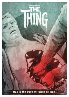 The Thing alt art poster