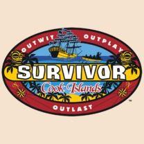 #survivor #popfunk #cookislands  This design is available as a Tshirt here: $21.00 http://www.popfunk.com/mens-tees/cbs-primetime/survivor/survivor-cook-islands.html