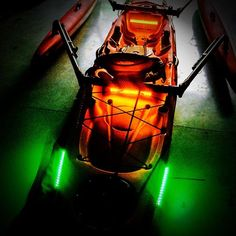 Love this pic from James Harris of our Night Blaster Kayak Kit. You have this $98.99 option or our Standard Kayak Kit for $49.99.  #bluewaterled #kayaking #kayak