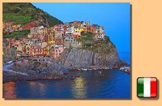 Manarola - Cinque Terre - Italia , una de las cinco joyas que esconde esta región . Conocer más sobre todas ellas en  http://europasites.blogspot.com.es/