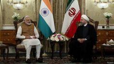 India dan Iran teken pembangunan pelabuhan bersejarah