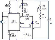 Police Siren Circuits with circuit diagram. by usin two pieces IC you can make it police siren sound generator. Electronics Basics, Hobby Electronics, Electronics Projects, Energy Technology, Science And Technology, Medical Technology, 10 Minute Timer, Circuit Theory, Computer Robot