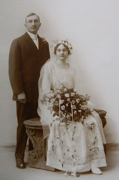 Wedding Photo Early 1900s Bonnet Cap by QueeniesCollectibles, $8.99