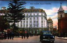 Antiguo Hotel Granada | Bogota Granada, Good Times, Costa, Santa Fe, Taj Mahal, Street View, Mansions, House Styles, Building