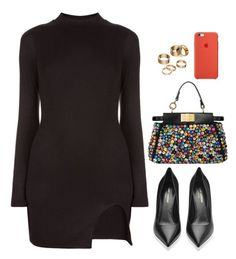 """."" by owl00 ❤ liked on Polyvore featuring Yves Saint Laurent and Apt. 9"