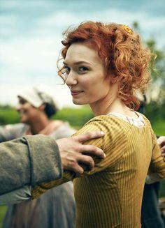 Eleanor Tomlinson in 'Poldark' (2015). x