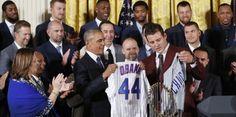 Obama rinde homenaje a los campeones Cachorros:...