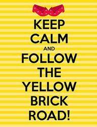 Sigue el camino de baldosas amarillas!