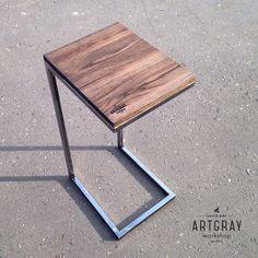 Купить Придиванный столик в стиле лофт - лофт, Мебель, индустриальный стиль, массив, эко, сосна