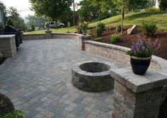 Browse Patio Paver Ideas Pictures Diy Paver Patio Design Ideas on Outdoor Top Collection Pavers For Backyard Outdoor Patio Pavers, Outdoor Patio Designs, Concrete Patio, Backyard Patio, Patio Stone, Cement, Outdoor Spaces, Paved Patio, Stamped Concrete