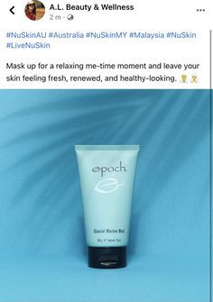 Me Time, No Time For Me, Glacial Marine Mud, Ageloc Galvanic Spa, Epoch, Beauty Skin, Your Skin, Wellness, Personal Care