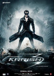 Krrish 3 2013 Full Hindi Movie 1CD pDvD Rip Torrent For Free