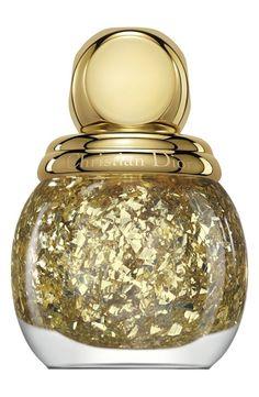 Dior Golden Shock Top Coat #manicure #nails