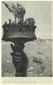 [Statue of Liberty torch.] (1894)