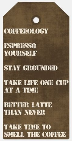 coffeeology quotes coffee morning